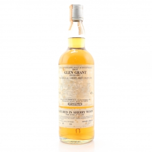 Glen Grant 27 Year Old Samaroli Sherry Wood / Silver Cap