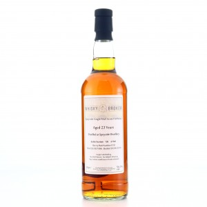 Speyside 1996 Whisky Broker 23 Year Old