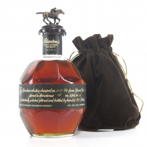 Blanton's Single Barrel Black Label Dumped 1998
