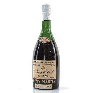 Remy Martin VSOP Champagne Cognac Half Bottle 1960s