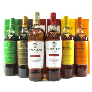 Macallan Edition No.1-4 Collection & Classic Cut 2017, 2018 6 x 75cl / US Imports