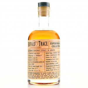 Buffalo Trace 2009 Experimental Collection 9 Year Old / Seasoned Staves 36 Months
