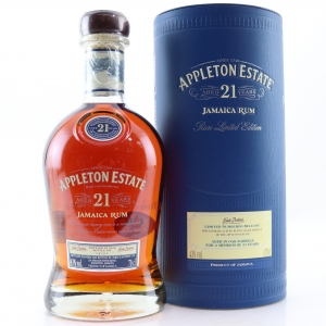Appleton Estate 21 Year Old Jamaican Rum