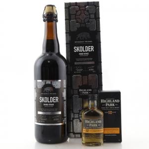 Frejdahl Brewery Skolder Viking Voyage / with Highland Park 12 Year Old Miniature 5cl