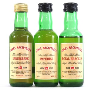 James MacArthur Miniature Selection 3 x 5cl / Including Springbank