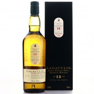 Lagavulin 12 Year Old Cask Strength 2018 Release