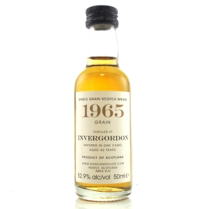 Invergordon 1965 Duncan Taylor 42 Year Old Miniature 5cl
