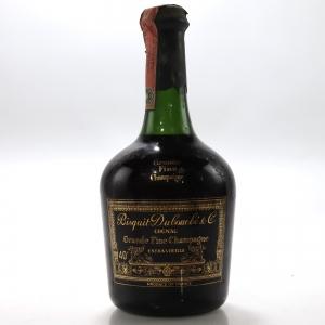 Bisquit Dubouche Grande Fine Champagne Cognac 1970s