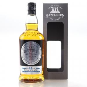 Hazelburn 2002 Single Cask 15 Year Old / Cognac Butt