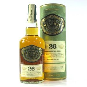 Irish Reserve 26 Year Old Single Malt Irish Whiskey