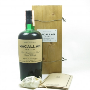 Macallan 1874 Replica Front