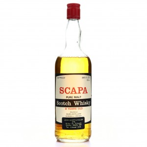 Scapa 8 Year Old Gordon and MacPhail 100 Proof 1970s