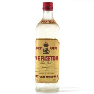 V.F. Fleeton Dry Gin 1970s