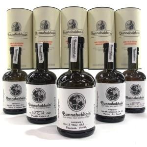 Bunnahabhain Warehouse 9 Hand Filled Selection 5 x 20cl