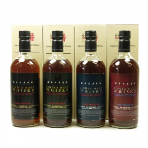 Karuizawa Cask Strength Collection 4 x 70cl