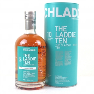 Bruichladdich Laddie 10 Year Old / First Off The Line Signed