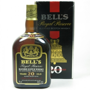 Bell's 20 Year Old Royal Reserve 1980s