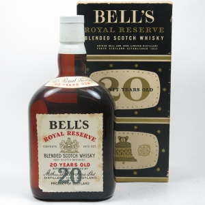 Bell's 20 Year Old Royal Reserve 1960s