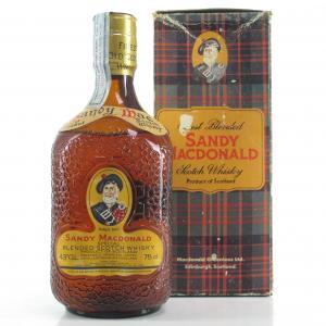 Sandy MacDonald Special Scotch Whisky 1980s