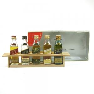Johnnie Walker Master Blender Miniature Collection 5 x 5cl