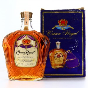 Seagram's Crown Royal 1971 10 Year Old Canadian Whisky