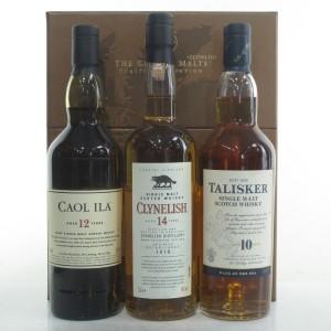 Classic Malts Collection 3 x 20cl / Caol Ila, Clynelish & Talisker