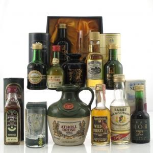 Miscellaneous Spirits & Liqueurs Miniatures x 11 / Including Atholl Brose 18.75cl