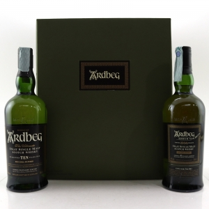Ardbeg 1990 Airigh Nam Beist 2008 & 10 Year Old / 2 x 70cl