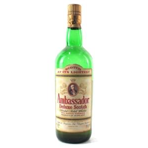 Ambassador Deluxe Scotch Whisky 1 Litre 1960s