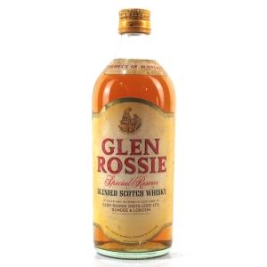 Glen Rossie Special Reserve circa 1960s