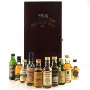 Scotch Single Malt Whisky Society Miniature Presentation pack 10 x 5cl