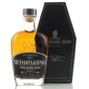 Whistlepig 13 Year Old Single Barrel Rye Miniature 5cl / The Boss Hog 5th Edition