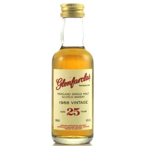 Glenfarclas 1988 25 Year Old Miniature 5cl