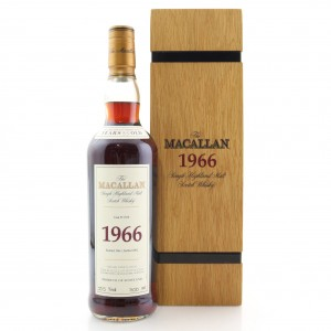 Macallan 1966 Fine and Rare 35 Year Old
