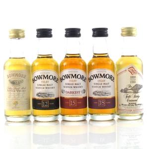 Bowmore Miniature Selection 5 x 5cl