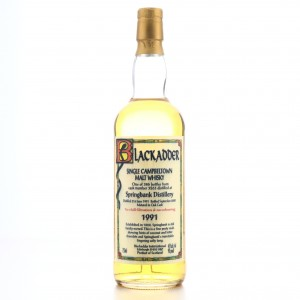 Springbank 1991 Blackadder 75cl / US Import