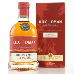 Kilchoman 2010 100% Islay Single Cask 9 Year Old / Distillery Exclusive