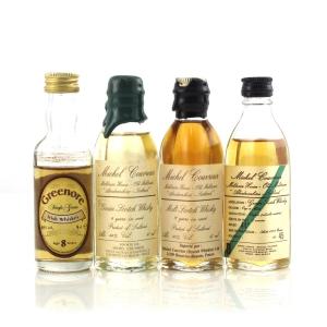 Scotch & Irish Whisky Miniature Selection x 4
