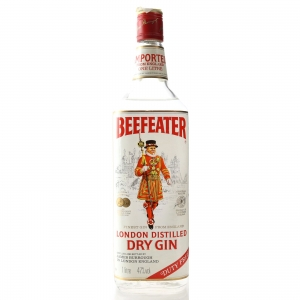 Beefeater London Dry Gin 1 Litre 1980s/1990s