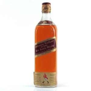 Johnnie Walker Red Label 1960s