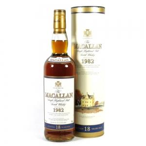 Macallan 1982 18 Year Old