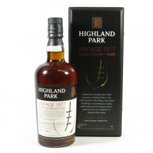 Highland Park 1977 Single Cask #4258
