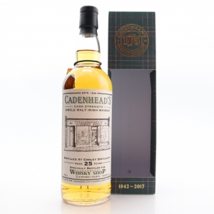 Cooley 1992 Cadenhead's 25 Year Old / Campbeltown Shop