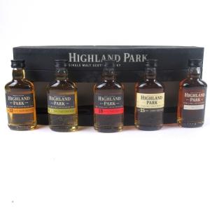 Highland Park Miniature Selection 5 x 5cl