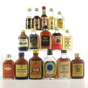 Rum Selection 16 x Miniature