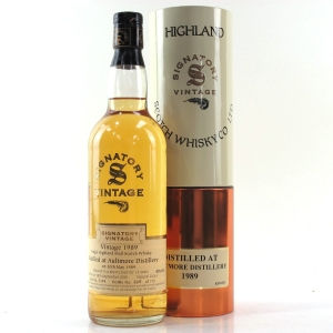 Aultmore 1989 Signatory VIntage 12 Year Old