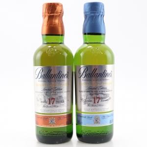 Ballantine's Signature Distillery 17 Year Old 2 x 20cl / Scapa & Miltonduff