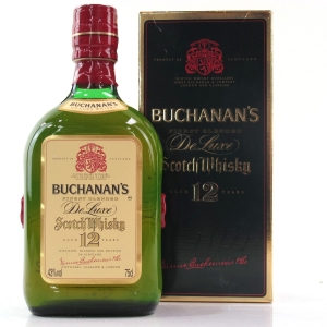 Buchanan's 12 Year Old De Luxe 1980s