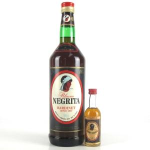 Negrita Bardinet Original Caribbean Rum 1 Litre / Including Miniature