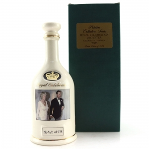 Pointers 12 Year Old Collectors Series Decanter / Royal Wedding 2005